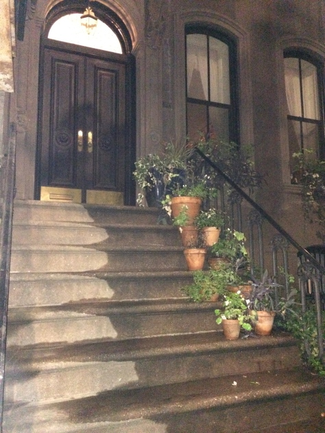 """Carrie's"" front steps"