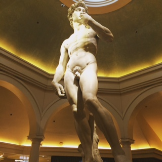 Statue of David at Cesar's Palace