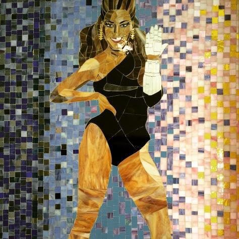 Beyonce, in tiles