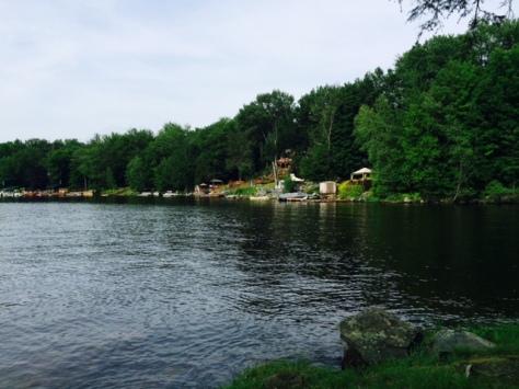 Pocono Mountains Lake, Pennsylvania