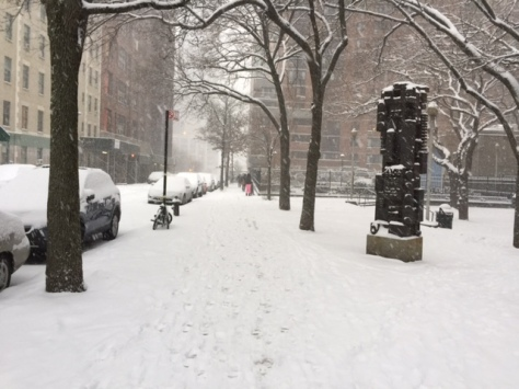 Snow Day In New York City, 2015