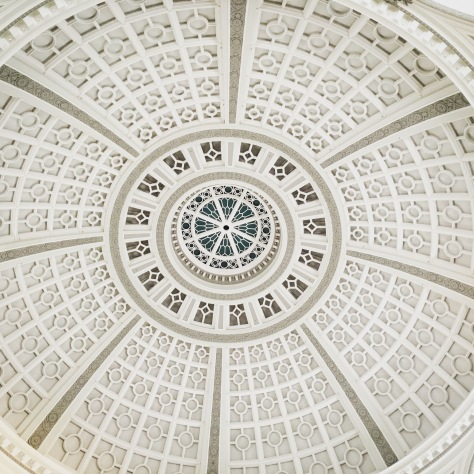 San Francisco Shopping Center, Historical Glass Ceiling Dome